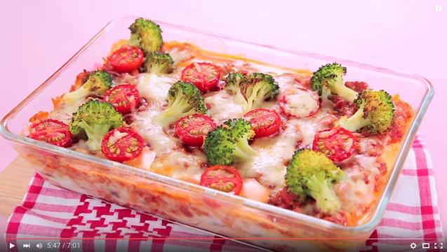 ギャル曽根のダイエットレシピ: 野菜たっぷりラザニア風グラタン <視聴時間701>
