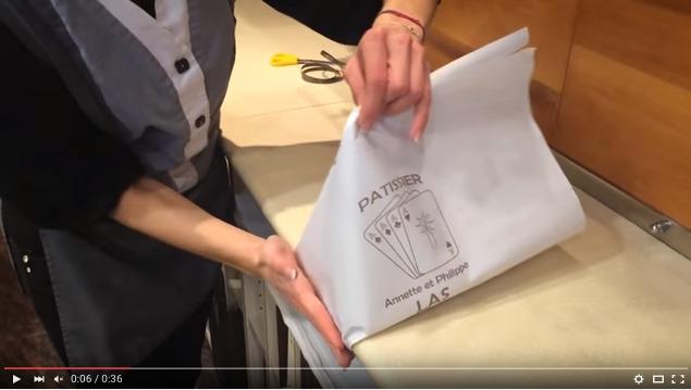 バレンタインにおすすめ♥フランスの伝統ラッピング『パケ・モンテ』をご紹介 by カフェ・ド・パリ