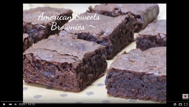 Brownies(Fudgy Brownie)の作り方 - えりの食の世界 - eriFW.com Official Youtube Channel